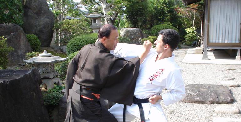 ясумото сенсей и евгений радишевский япония 2004